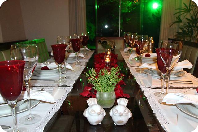 Montando a Mesa : Jantar Dia dos Namorados