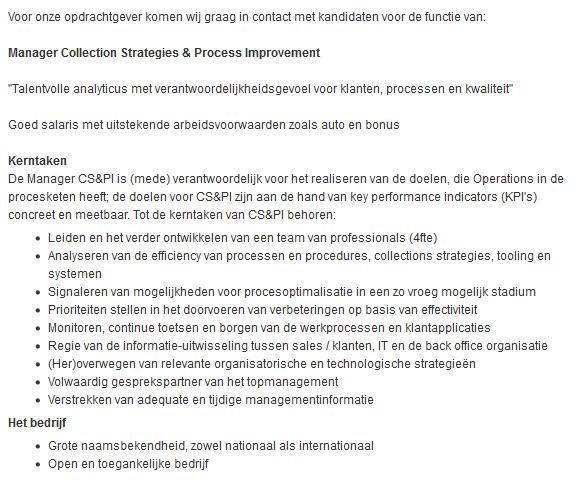 sollicitatiebrief coordinator Werkman is Werkloos: Gebruik geen zware functietitels in  sollicitatiebrief coordinator