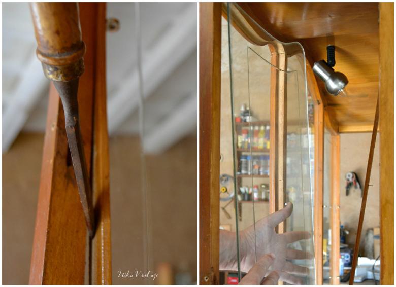 Antes y después de una vitrina vintage, lograremos una transformación total y te voy a contar cómo paso a paso