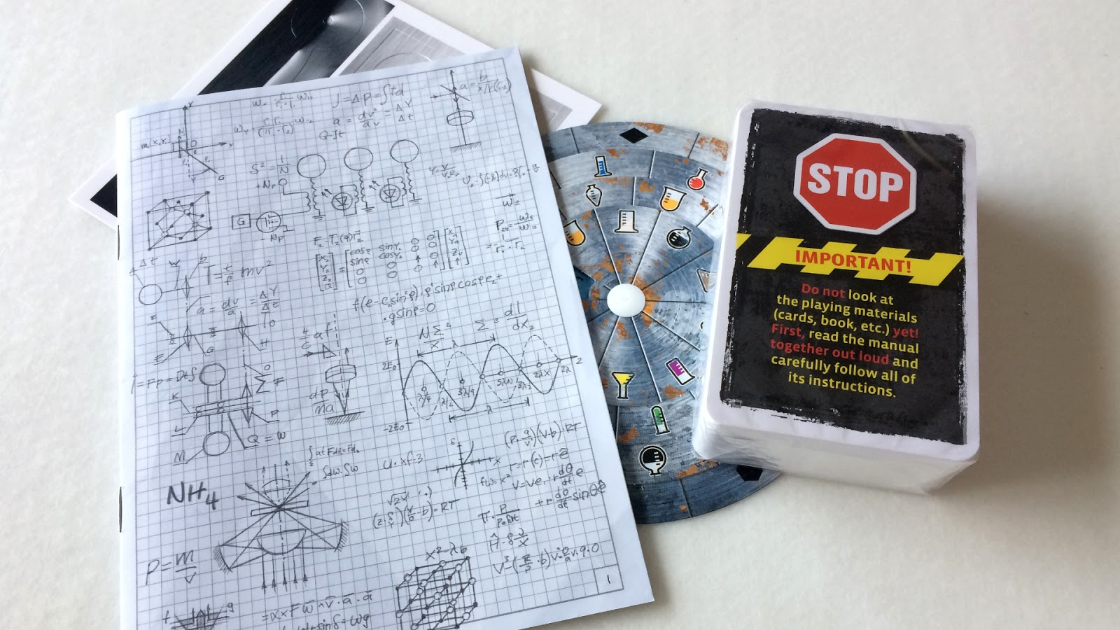 exit the scret lab review contents