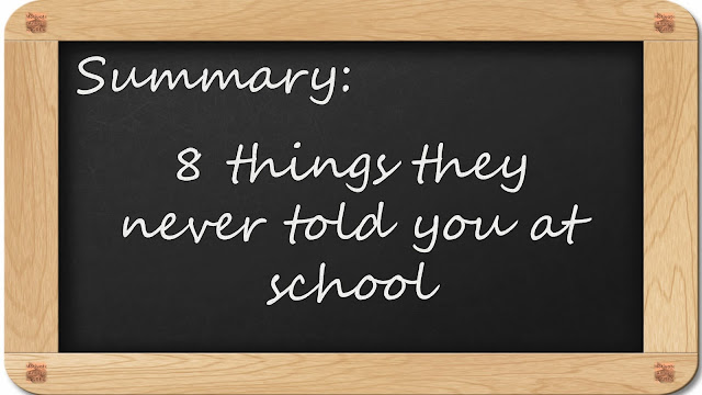 8 Inspirational Messages They Never Told You At School