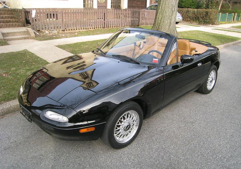 """Just A Car Geek: 1992 Mazda Miata """"Black Edition"""""""