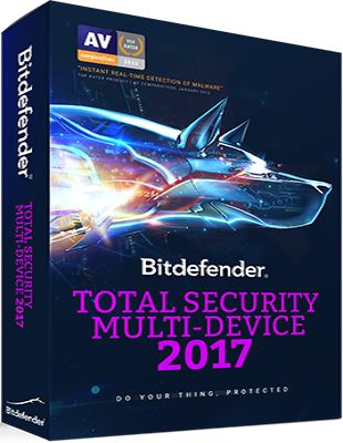Bitdefender Total Security 2017 v21.0.25.92 poster box cover