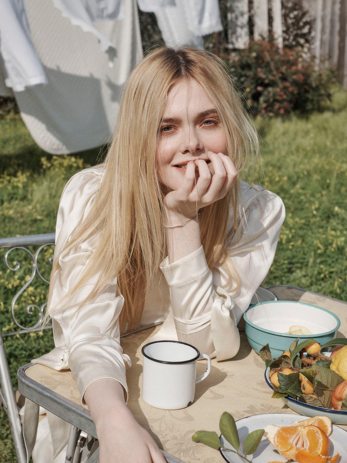 Elle Fanning in Porter Edit April 4th, 2018 by Benny Horne