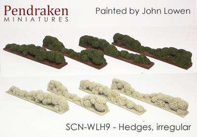 SCN-WLH9   Hedges, irregular (4 pieces)