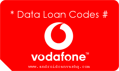 Get Data Loan in Vodafone