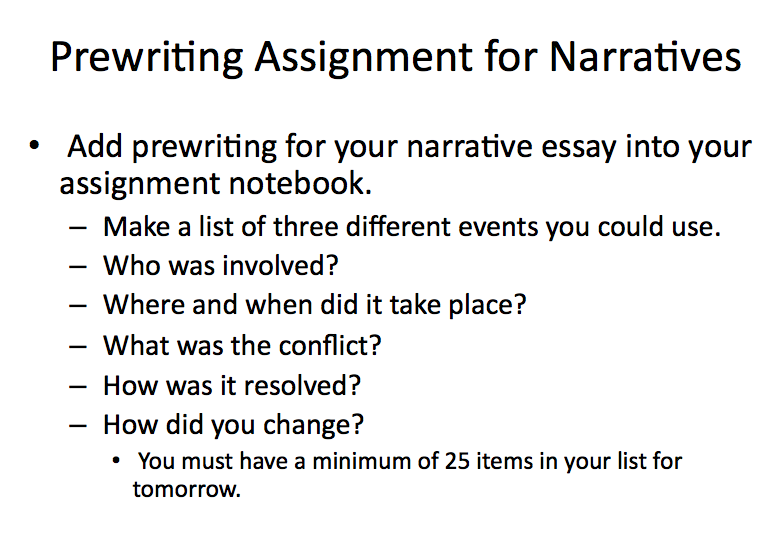 writer s notebook final portfolio narrative writing writer s notes one frustration that i have always had the prewriting assignment for this essay is the lack of information students write in their