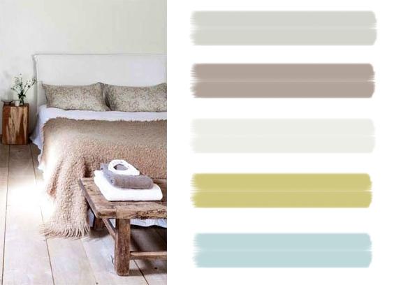 idées couleurs chambre - blog deco