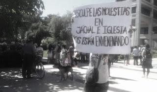 Desde la Asamblea Jáchal No se toca enviaron un comunicado de prensa en el que queda explícitamente expreso el pedido que le hacen al Gobierno de San Juan y a la empresa Barrick.