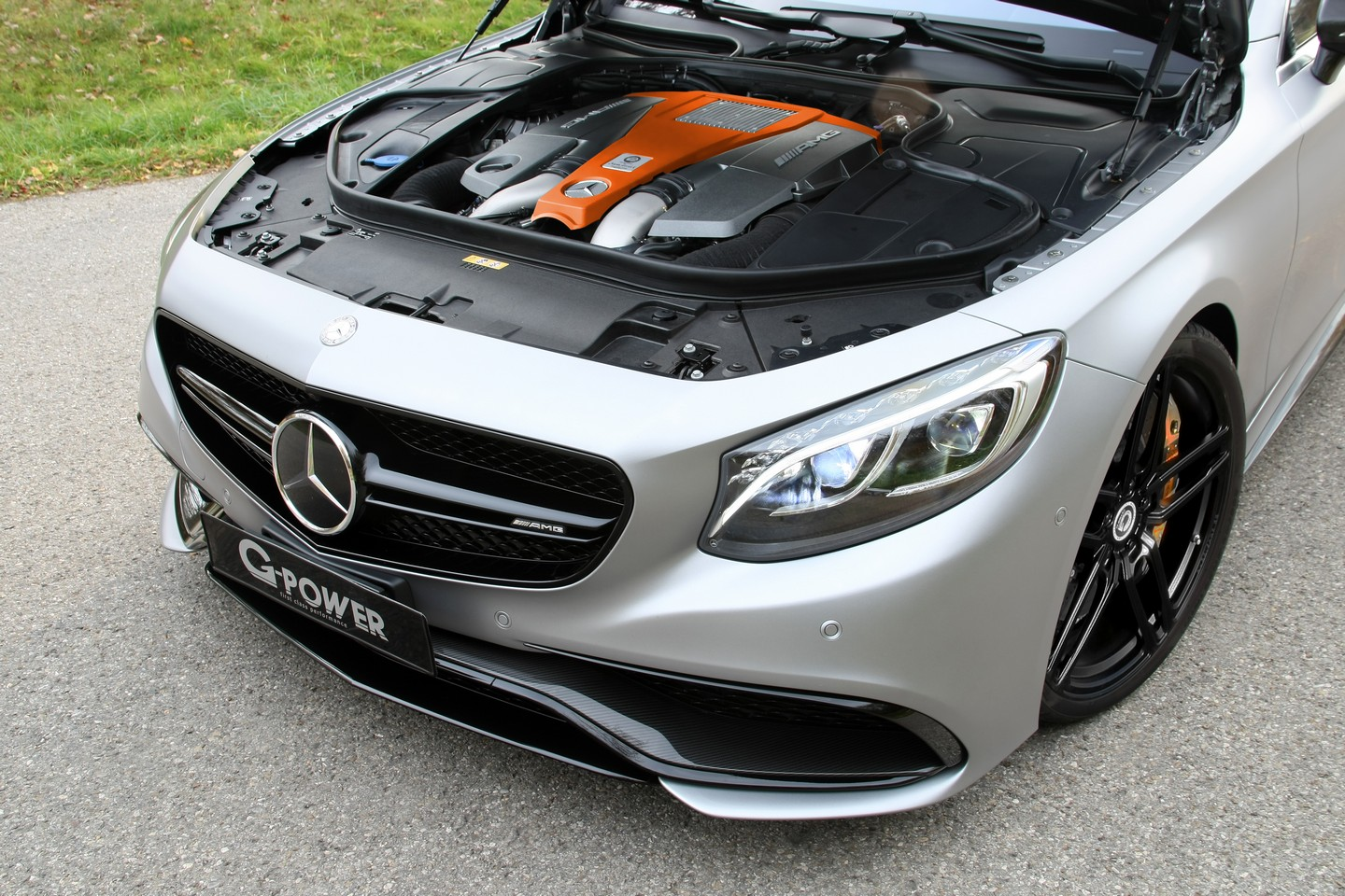 2016 Mercedes Amg S63 Coupe G Power Benztuning