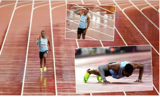 World Athletics Championship 2017: Botswana's sprinter is made to run alone after he contracted norovirus (Photos)