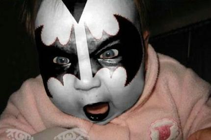 Kiss White Face Paint