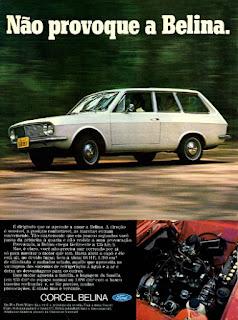 propaganda Ford Belina - 1970, Ford, Ford-Willys anos 70, Oswaldo Hernandez, década de 70, anos 70,