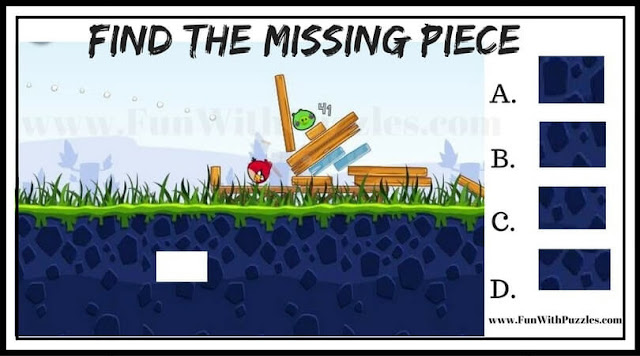 Angry Birds Missing Piece Picture Puzzle