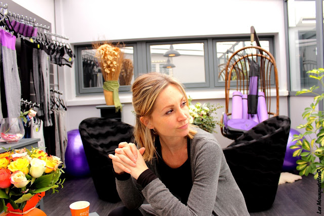 Oriane fondatrice du centre Origyn - Blog beauté Les Mousquetettes©
