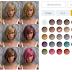Δοκίμασε χρώματα μαλλιών με το Free Hair Color Changer!