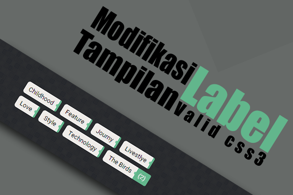 Modifikasi Widget Label dengan Counter Box Show-hide Valid CSS3