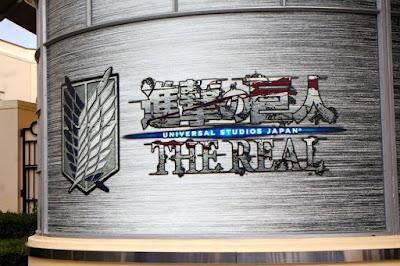 10D9N Spring Japan Trip: Attack on Titan, Universal Studios Japan