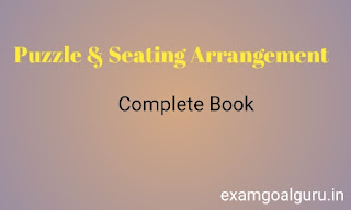 Puzzle & Seating arrangement pdf