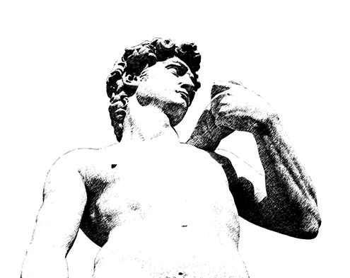 david-michelangelo-illustration-illustrations-images-stock-photos-miguel-angel-ilustraciones-fotografías-fotos-imagenes-florencia-souvenir-poster-firenze-florence-el-de-italy