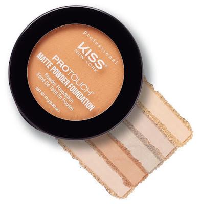 Kiss Professional Pro Touch Matte Powder Foundation