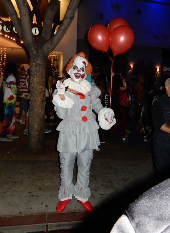 Halloween IT movie Pennywise clown costume
