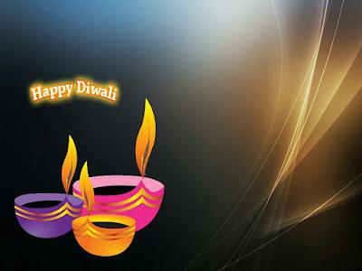 Burning Diyas Images Of Happy Diwali