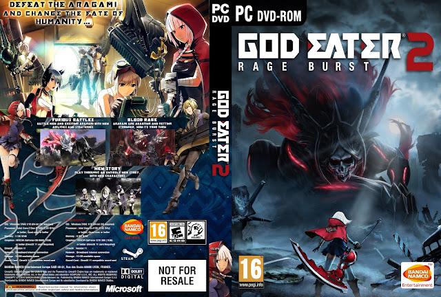 Capa God Eater 2 Rage Burst PC