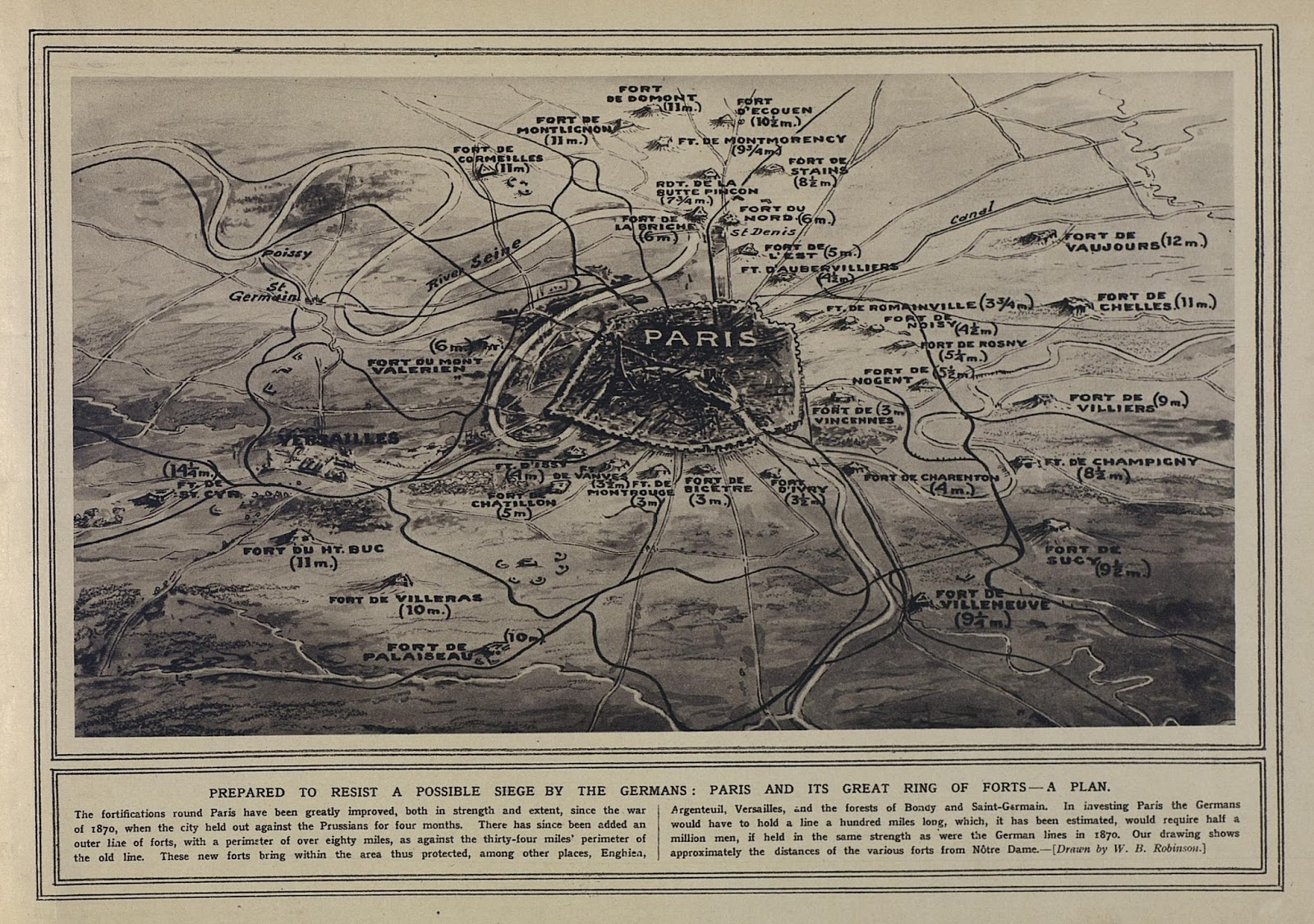 Map Of France During Ww1.The Chubachus Library Of Photographic History Map Of French Forts