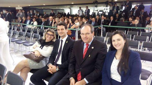 Prefeito de Pocinhos vai a Brasilia e participa de várias ações em favor do município