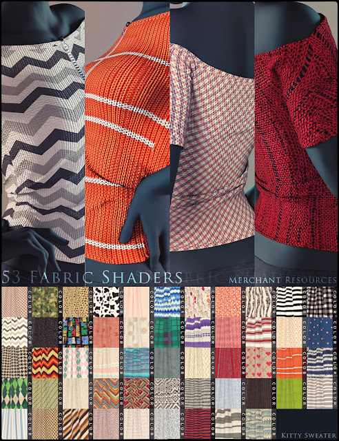 Sweater Shaders Merchant Resources