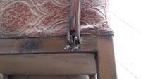 jak naprawić poręcz starego fotela