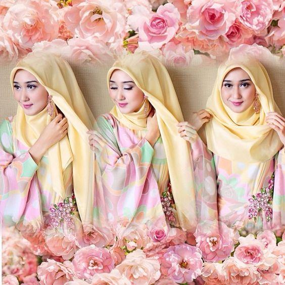15 Tutorial Hijab Style Ala Dian Pelangi Pashmina Segi ...