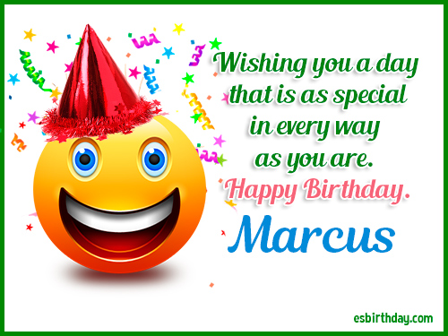 happy birthday marcus Happy Birthday Marcus   Happy Birthday images for Name happy birthday marcus