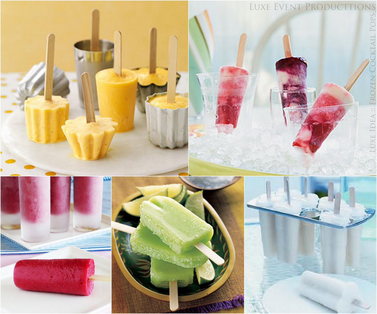 Cocktail Wedding Ideas: My Wedding Reception Ideas Blog: Some Cocktail Popsicle