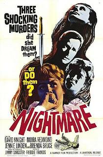 Poster de El abismo del miedo / Nightmare 1964