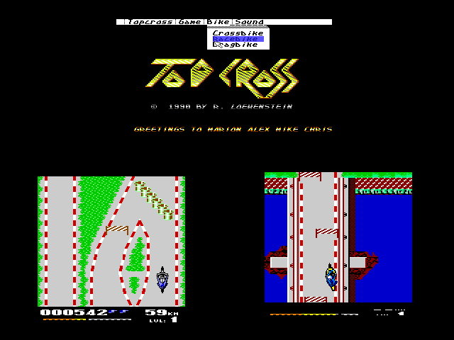 C64, Top Cross