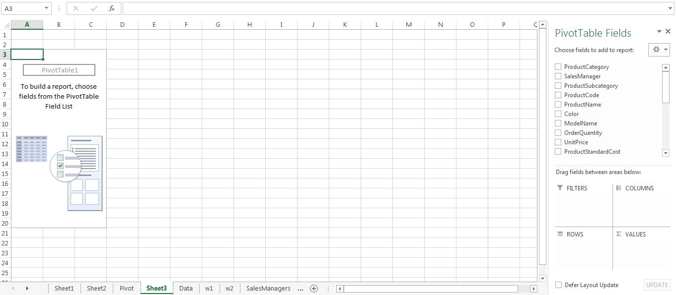 Valence Analytics: P1.1: VLOOKUP and PivotTables in