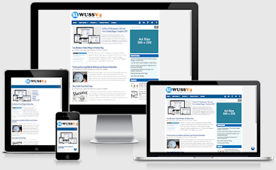 SL Wuss V4 Blogger Template blog seo friendly
