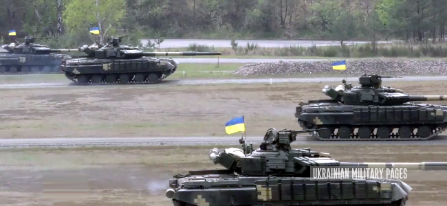 Ukrainian Military Pages - Strong Europe Tank Challenge 2017. Перший день: український взвод у наступі