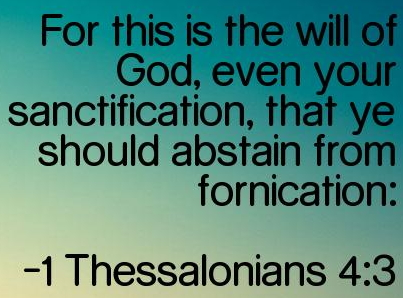 bible verses fornication