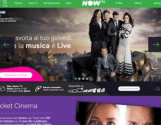 servizio NOW TV