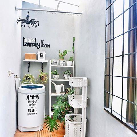 17 Desain Tempat Jemuran dan Mencuci Baju Minimalis ...