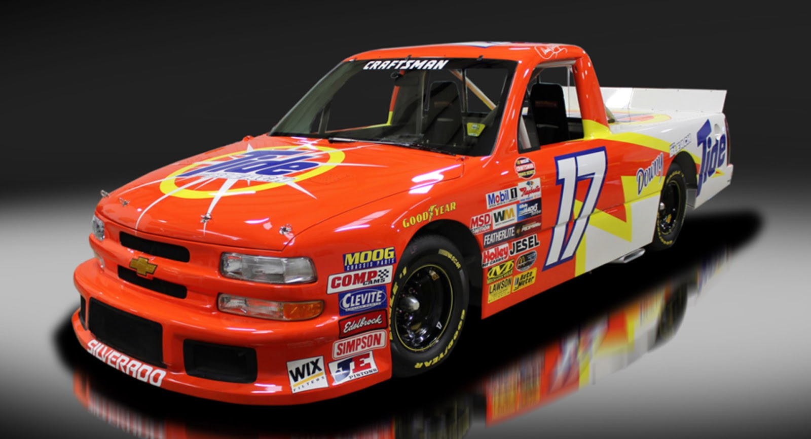Buy This NASCAR Racing Truck, Drive It On Public Streets - car news