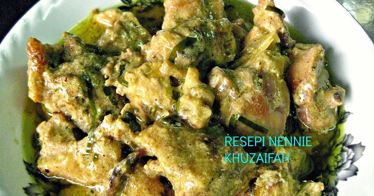resepi gulai ayam  sedap surasmi Resepi Rendang Daging Utara Enak dan Mudah