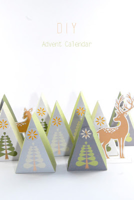 free printable DIY advent calendar