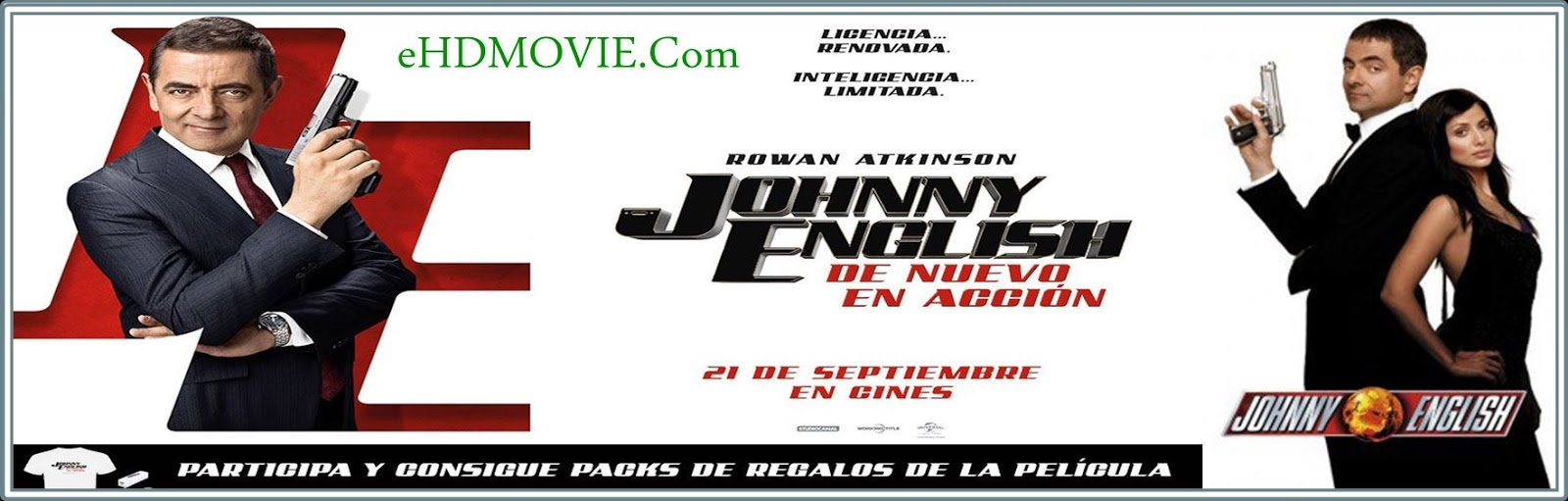 Johnny English 2003 Full Movie Dual Audio [Hindi – English] 720p - 480p ORG BRRip 350MB - 1.1GB ESubs Free Download