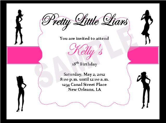 Solutions...Event Design by Kelly: Pretty Little Liars ...