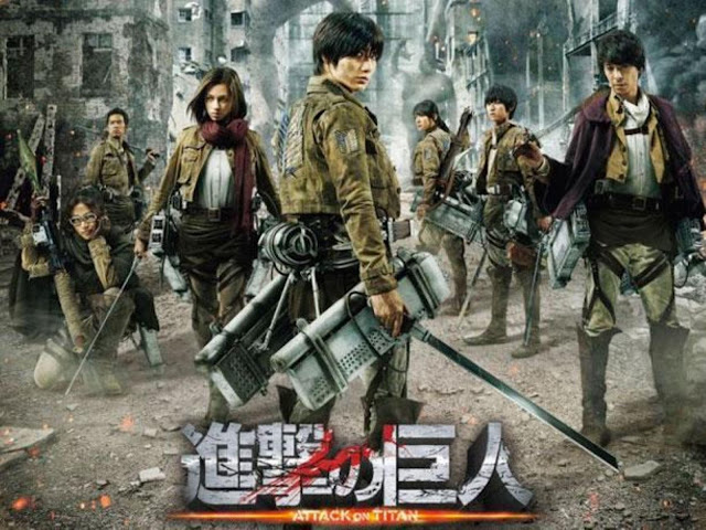 Shingeki no Kyojin Live Action 1/1 [Sub-Esp][Mega][HD]