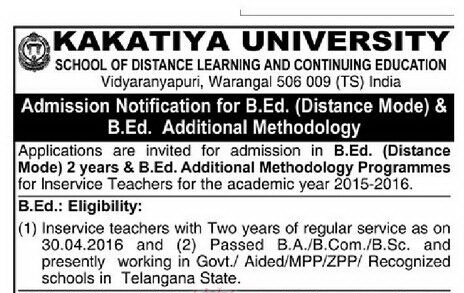 http://www.tsteachers.in/2016/03/kakatiya-university-ku-distance-bed-additional-methodology-inservice-teachers.html